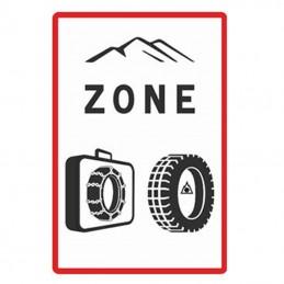 Panneau B58 - Entrée Zone...