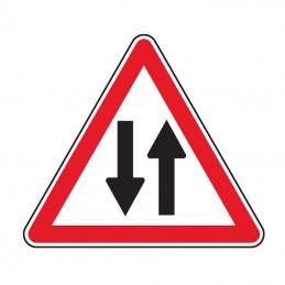 A18 Panneau Danger Double Sens