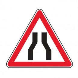 A3 Panneau Chaussée Rétrécie