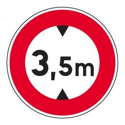 B12 Panneau Limitation de...