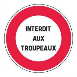 B19 Panneau Interdiction...