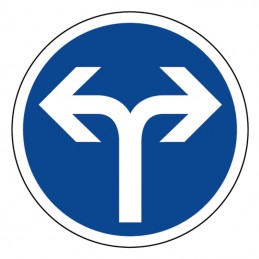 B21e Panneau Direction...