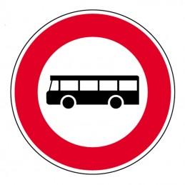 B9f Panneau Interdit aux Bus