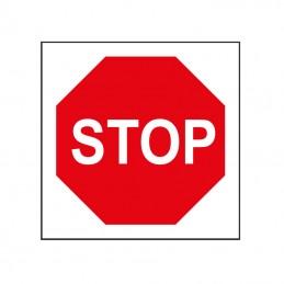 Panneau STOP - 400x400mm