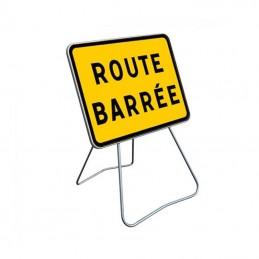 KC1 Panneau Route Barrée