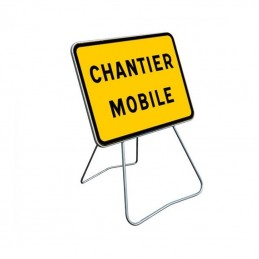 KC1 Panneau Chantier Mobile