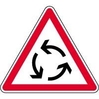 Panneaux de priorité ou d'intersection