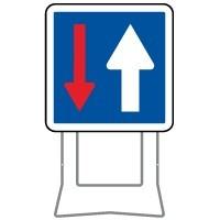 Panneaux d'indication temporaire