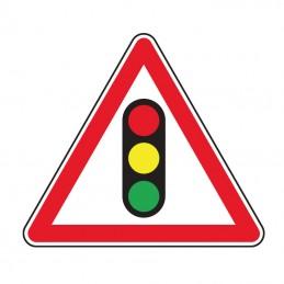 A17 Panneau Feux Tricolore