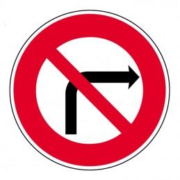 B2b Panneau Interdiction de...
