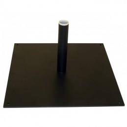 Platine carré Acier 40x40cm