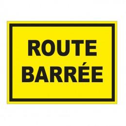 Route Barrée 800x600mm