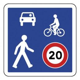 B52 Panneau Zone de rencontre