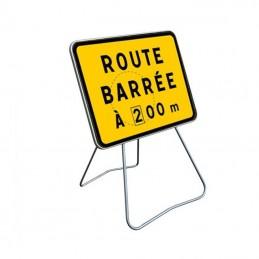 KC1 Panneau Route Barrée +...